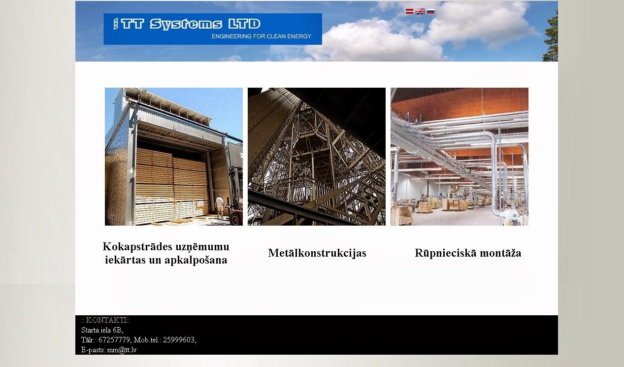 mājas lapas izveide, izstrāde