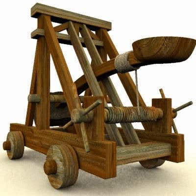 Tự Chế Đồ Chơi Máy Bắn Đá Catapult