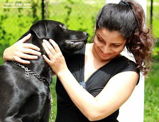 Madu Bogahawatta With Dog