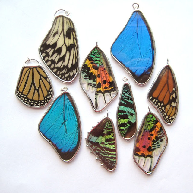 butterfly jewelry- popko shop