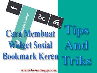 Cara Buat Sosial Bookmark Dengan Tampilan Seperti Window 8