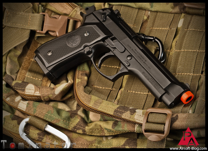 Elite Force Beretta M92FS, Elite Force Airsoft BBs, Airsoft Action Videos, Airsoft Videos, Pyramyd Air, Pyramyd Airsoft Blog, Tom Harris Media, Tominator