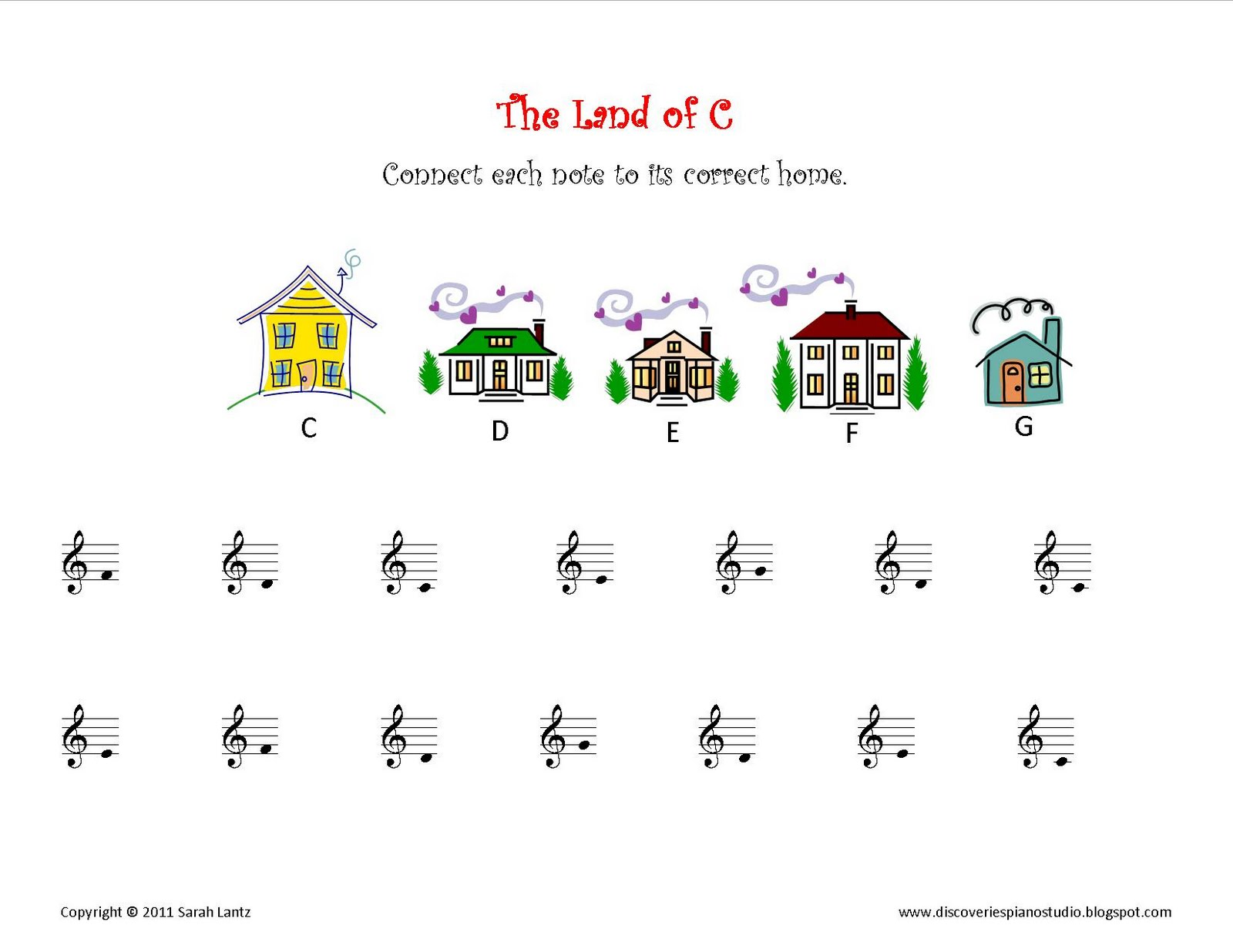 Fun note name worksheet. Website also has TONS of fun music ...
