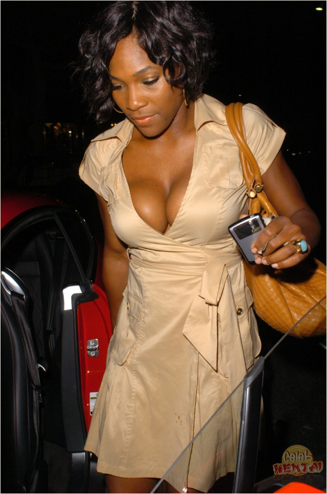serena williams hot nued