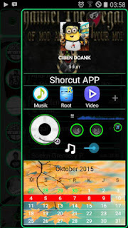 BBM MOD TRANPARAN GREEN LINE V2.10.0.31 APK