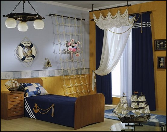Pirate Theme Bedrooms Decorating Ideas And Pirate Themed Decor