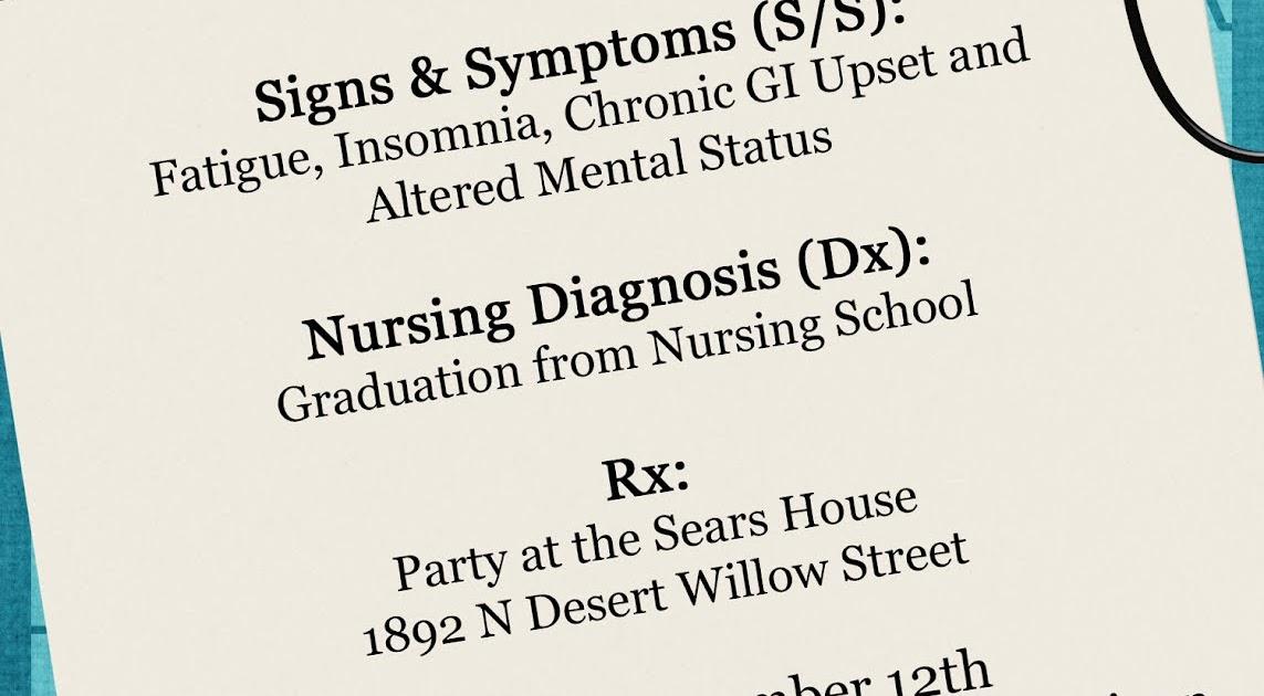 Sears Family: Nursing School Graduation Party