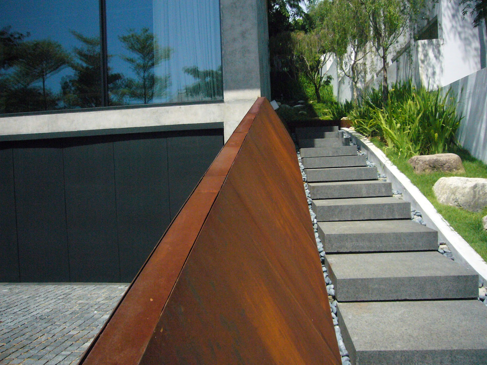 corten steel designs and engineering may 2012. Black Bedroom Furniture Sets. Home Design Ideas