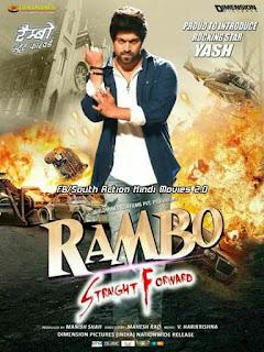 Rambo Straight Forward (Santhu Straight Forward) 2018 Dual Audio Hindi 720p HDRip [1.5GB]