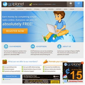 Get Paid To Click with GPTPlanet