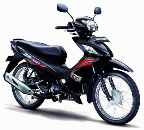 gambar motor suzuki smash r hitam