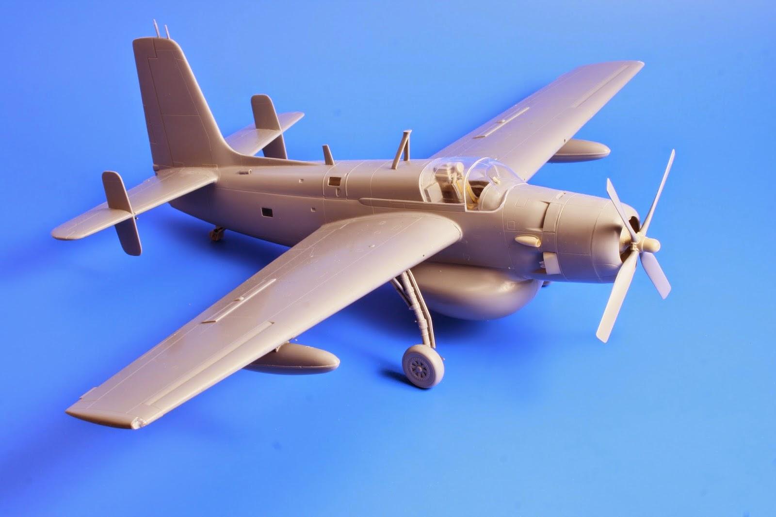 1//48 BarracudaCast BR48261 Grumman Guardian AF-2S//W Mainwheels Special Hobby