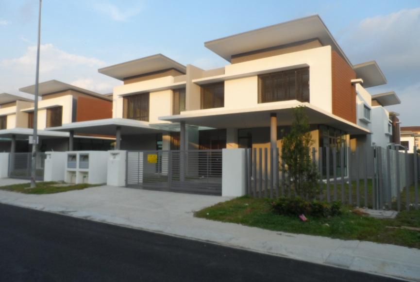Rumah Dan Tanah Property 2 Stry Semi D Garden Villas