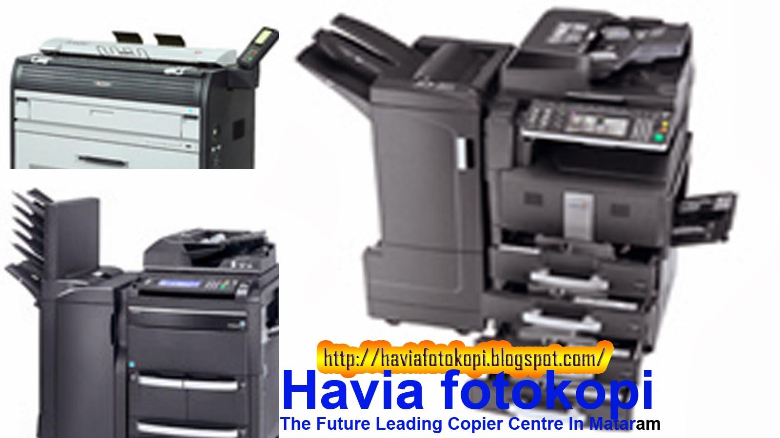 Bebrapa Contoh Mesin Fotocopy - Havia