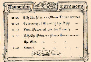 Invitation Card to Launch of HMSLeopard