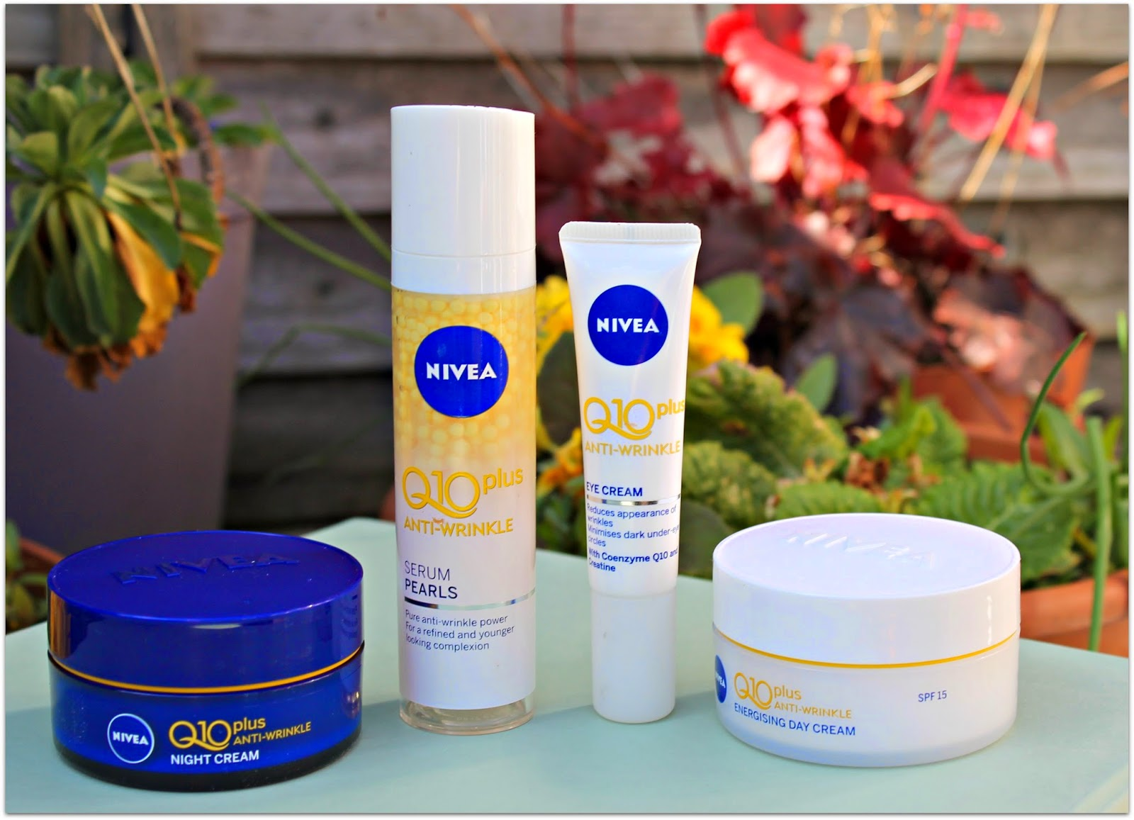 Nivea Q10 plus anti wrinkle range