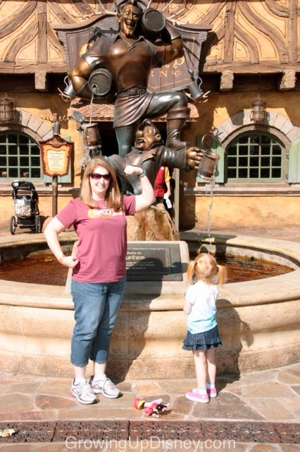 How do you show your #DisneySide at the parks?