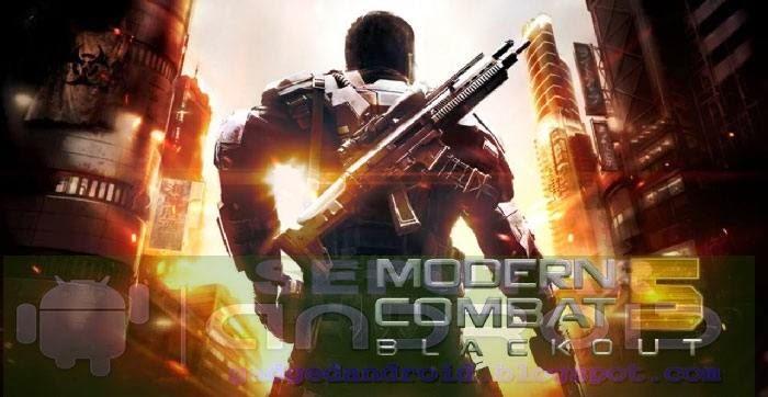 Download Game Modern Combat 5 Blackout Apk + Data