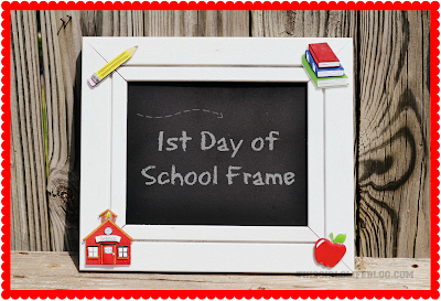 Easy DIY: First Day of School Frame
