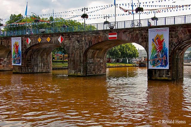 Saar-Spektakel - Alte Brücke in Saarbrücken