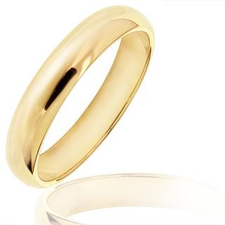 anillo clasico de oro