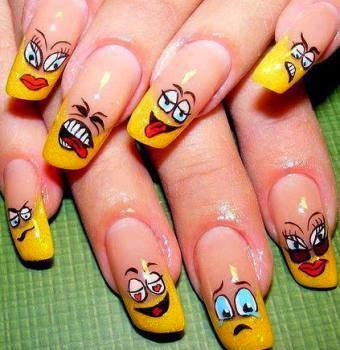 All About Our Passion Some Simple And Adorable Nail Art Design