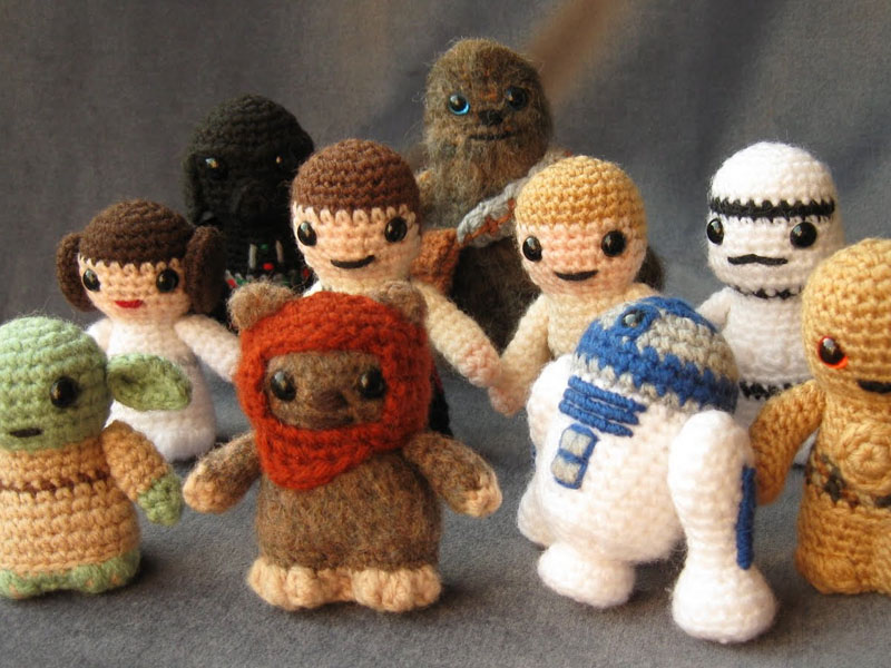 Crochet Patterns Star Wars : Boneka hasil anyaman hasil seni kriya
