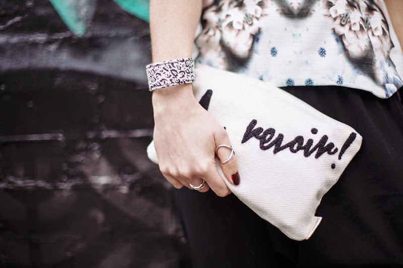 Styled by Sasha with Billabong Au Revoir Clutch and jewellery