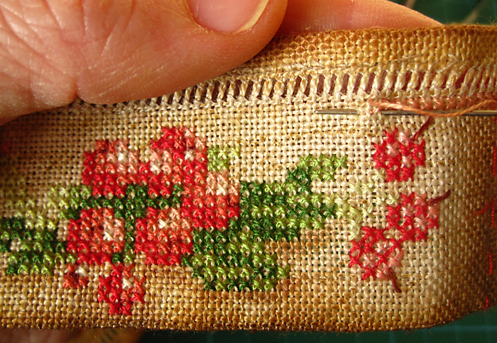 cross stitch berries