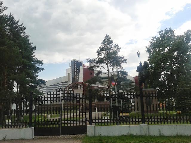 Ледовый дворец Витязь подольск