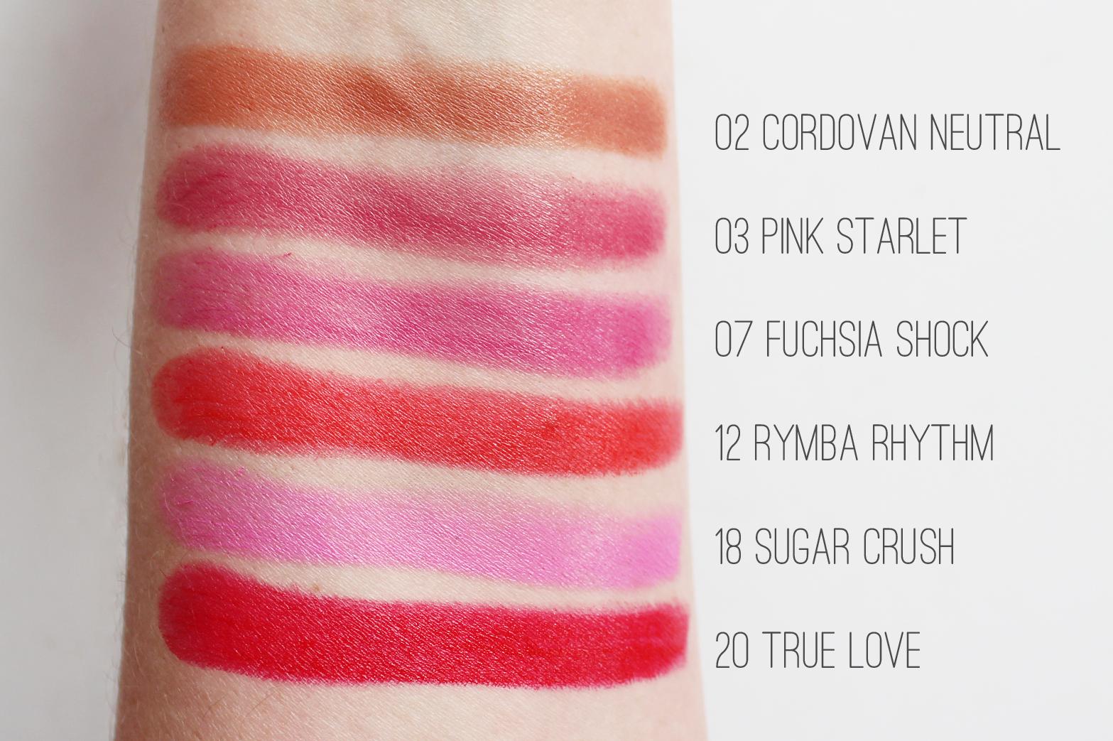 KAREN MURRELL | Lipstick Collection Swatches - CassandraMyee