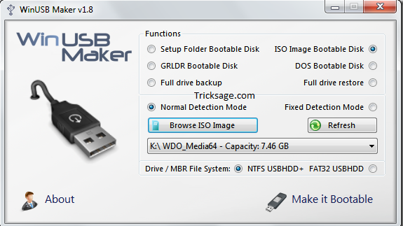 Make windows 8 bootable USB: Step by step instructions