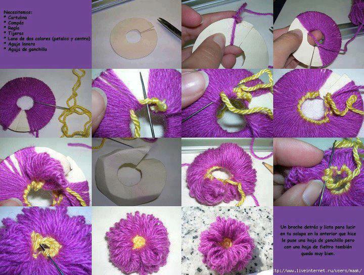 Технология цветок из ткани своими руками