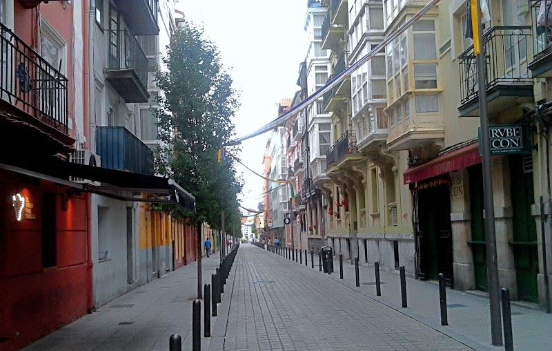 Calle del Sol en Santander