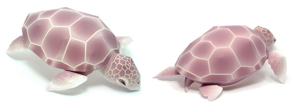 Plantillas  Figuras 3D  Recortables  Animales TORTUGA