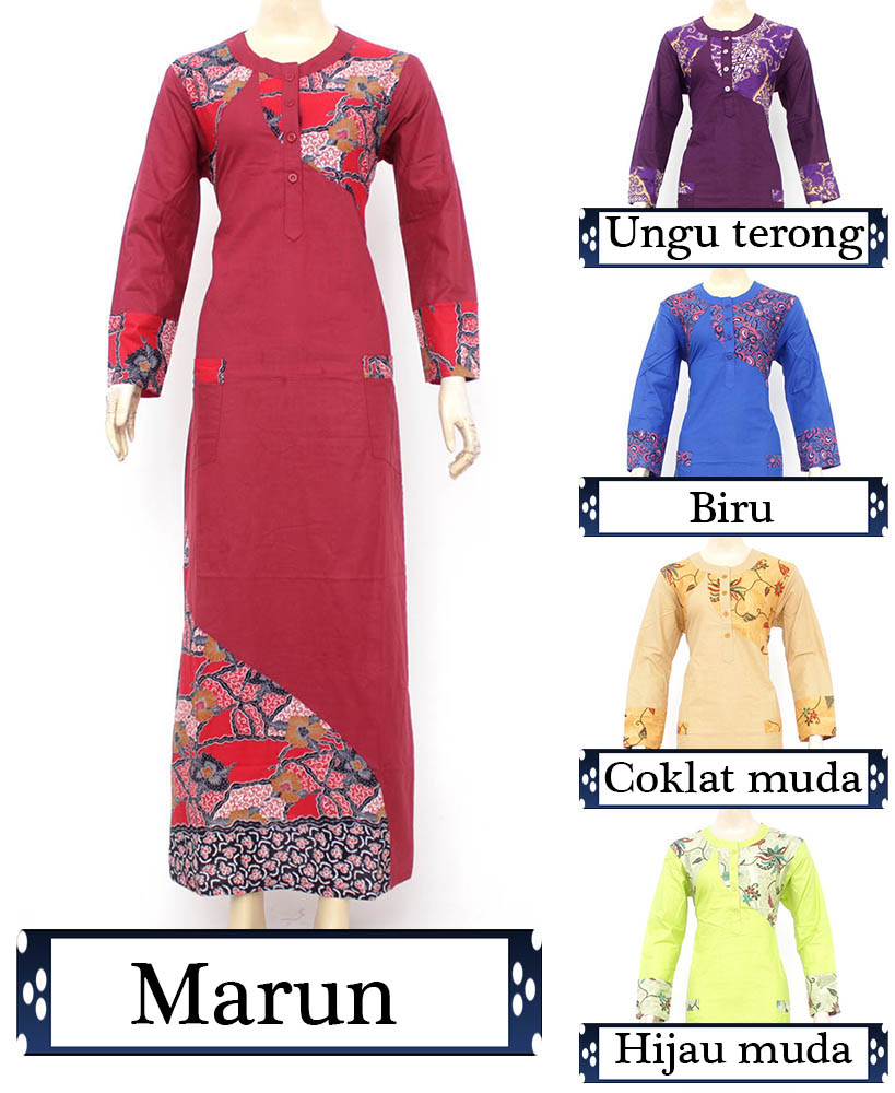 Baju Muslim Busana Muslim Gamis Muslimah Murah Tetap