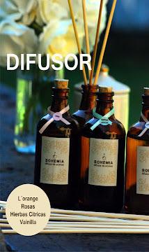Difusores Aromáticos con Bambú