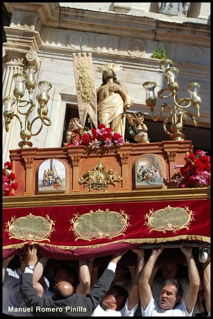 El Resucitado,desde la Parroquia de San Agustin