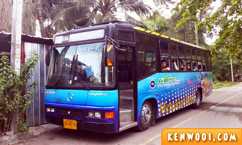 krabi tour bus