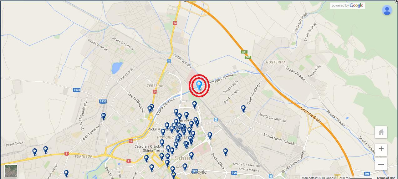 Map - Casa Weiss