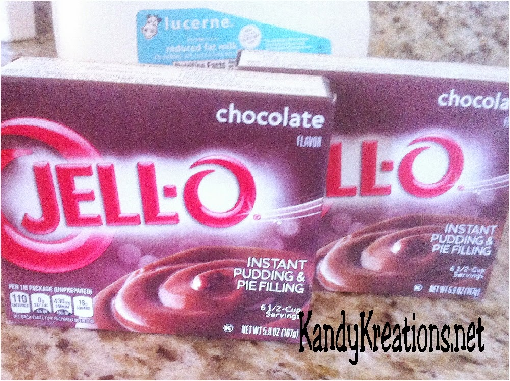 Jello Chocolate Pudding for Chocolate Pudding cake recipe