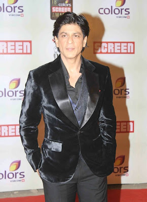 SRK at 18 th colors Screen Awards 2012