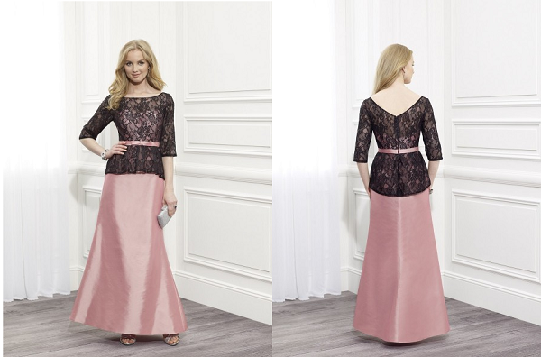 mother of bride dresses with sleeve