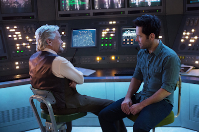 Michael Douglas and Paul Rudd in Ant-Man (2015)