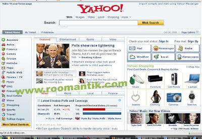 halaman depan yahoo.com