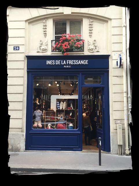 have some decorum alert the press in s de la fressange opens boutique in paris. Black Bedroom Furniture Sets. Home Design Ideas