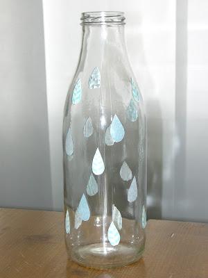 Gabulle in wonderland diy d corer vos bouteilles en verre avec du masking tape - Decoupe bouteille verre ...