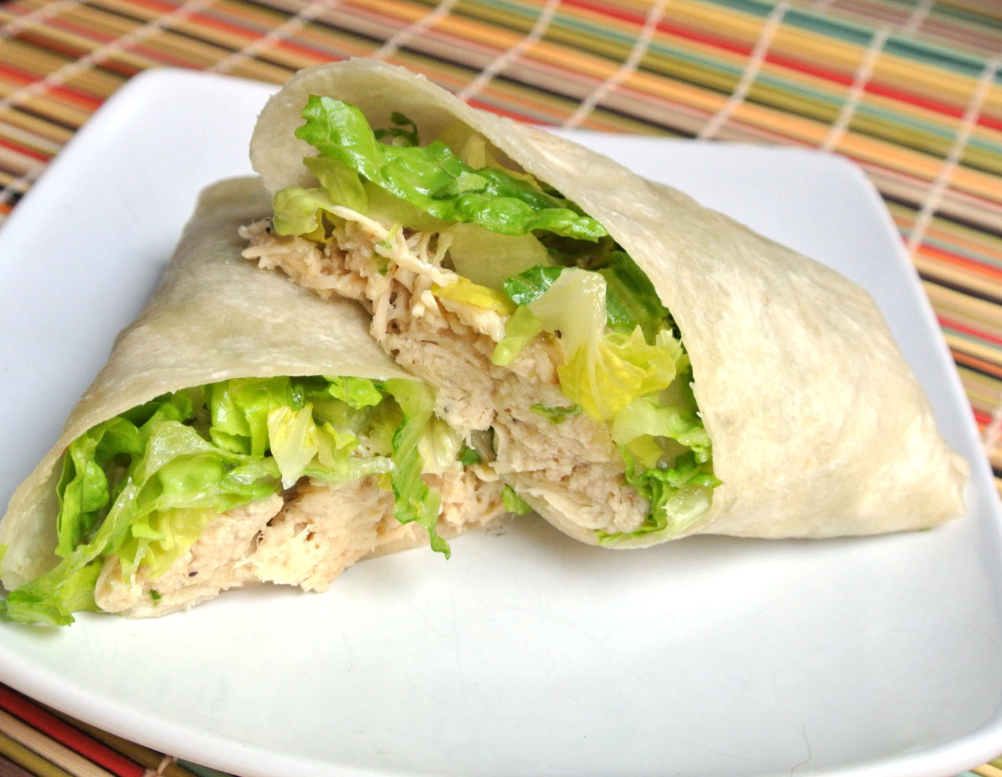 Mom, What's For Dinner?: Chicken Caesar Wrap