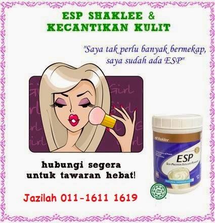 Rasai kulit gebu dan berseri dengan ESP Shaklee