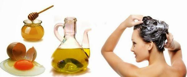 La receta de la máscara para los cabellos de la caída con las vitaminas y y en